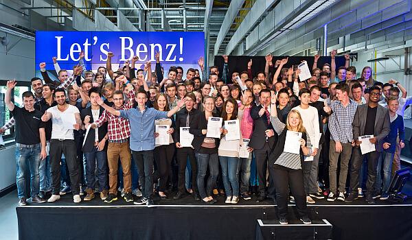 Innovatives Azubi Recruiting: Let's Benz 2013 – ein voller Erfolg!