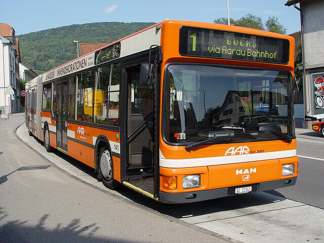 Bus (c) flickr.com / orangevolvobusdriver4u