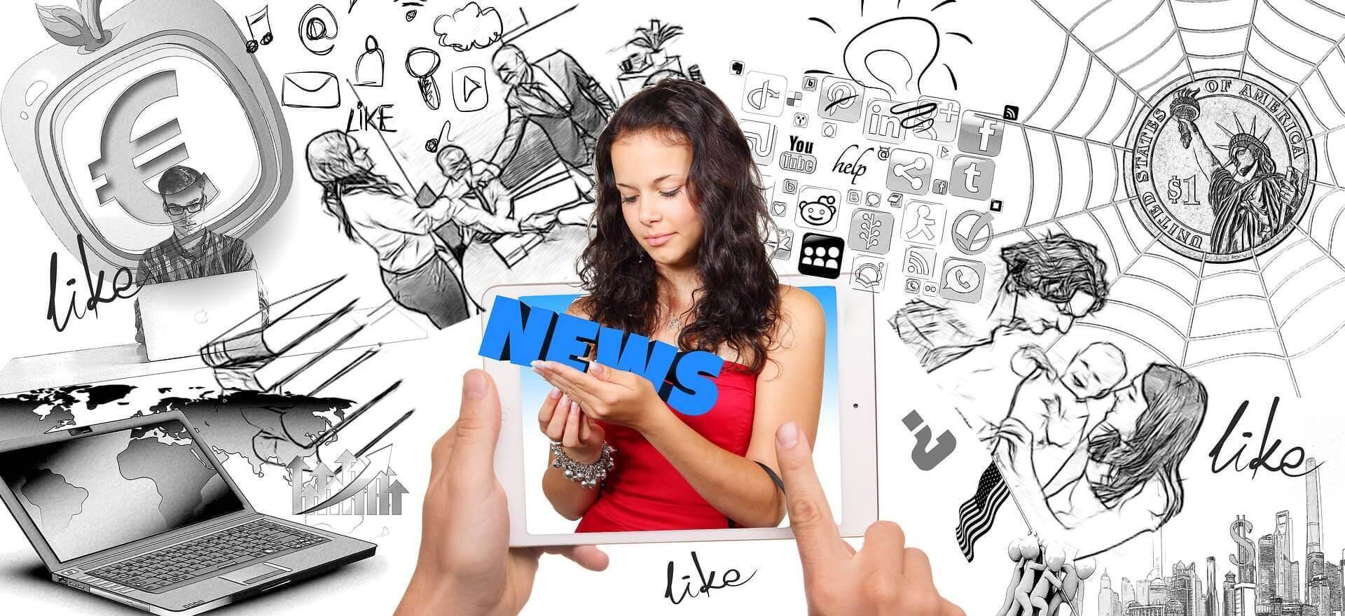 Internet und SocialMedia bestimmen das moderne Leben (c) geralt / pixabay.de
