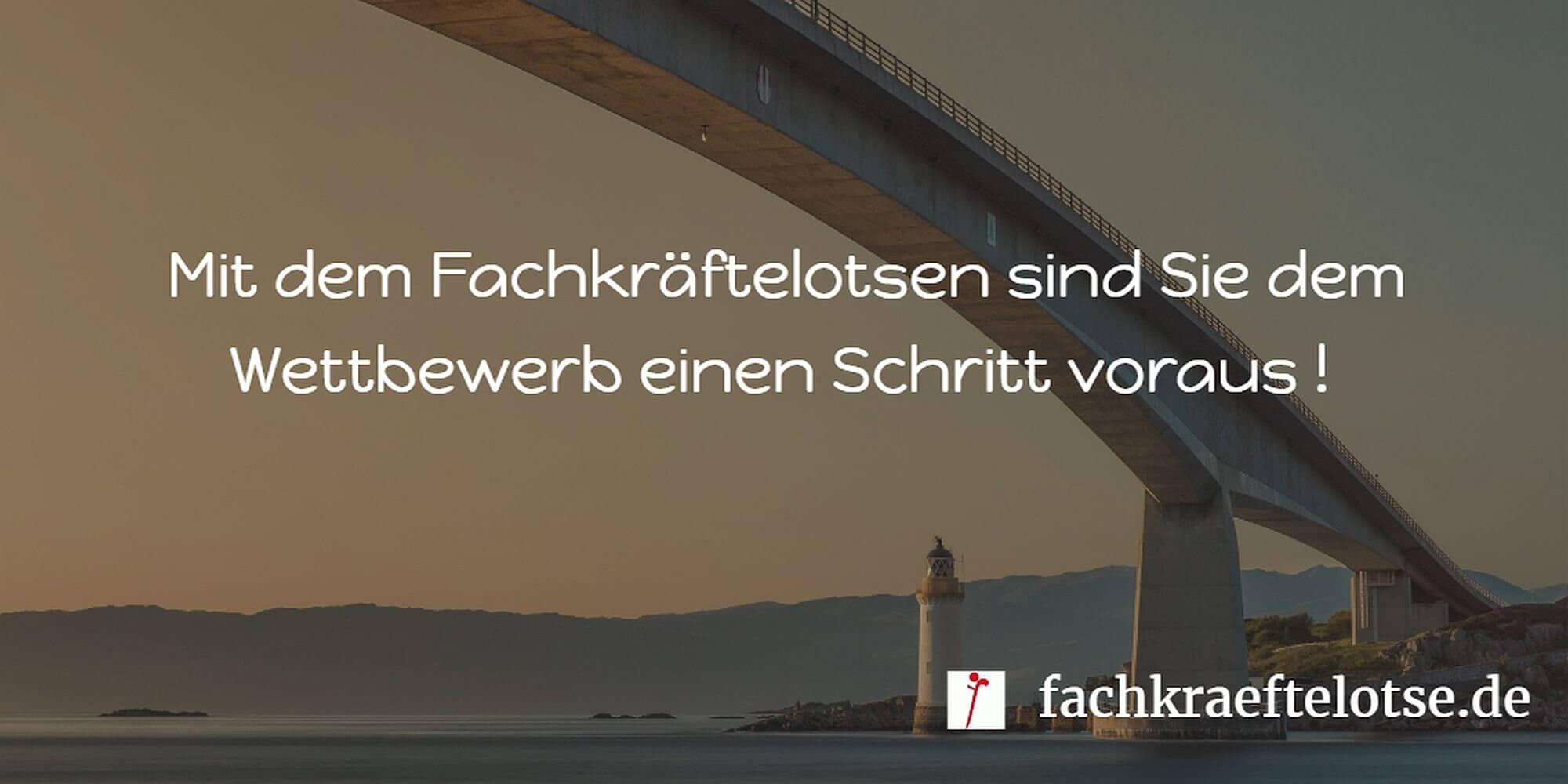 Mit Fachkräftelotse dem Wettbewerb einen Schritt voraus sein / fachkraeftelotse.de
