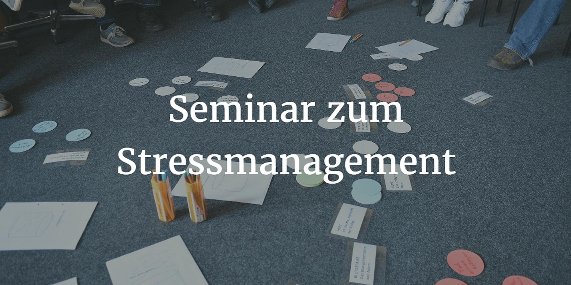 Seminar zum Stressmanagement (c) fsHH pixabay.de