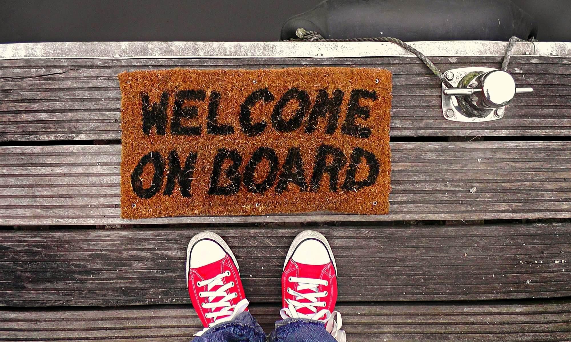 professionelles Onboarding und Willkommen für neue Kollegen