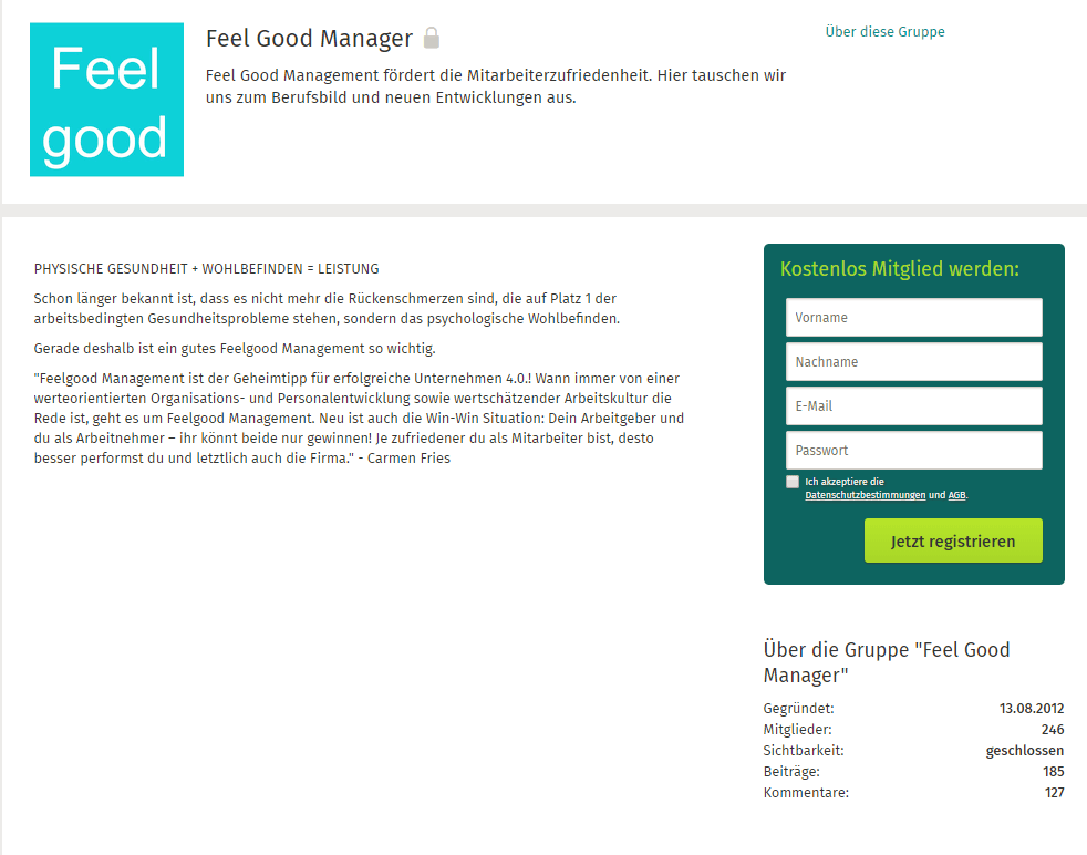 Feel Good Management Gruppe
