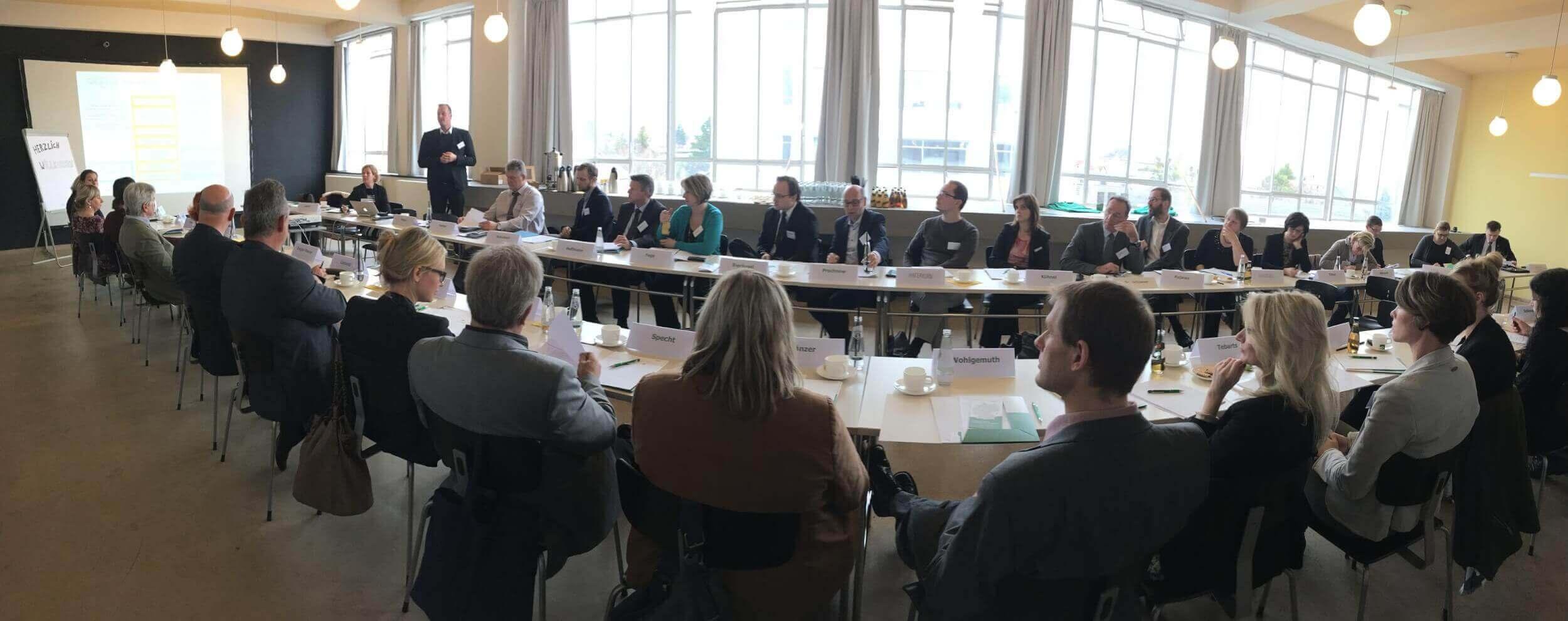 ERFA-Kreis Fachkräftesicherung Dessau (c) Innovationsbüro Fachkräfte für die Region