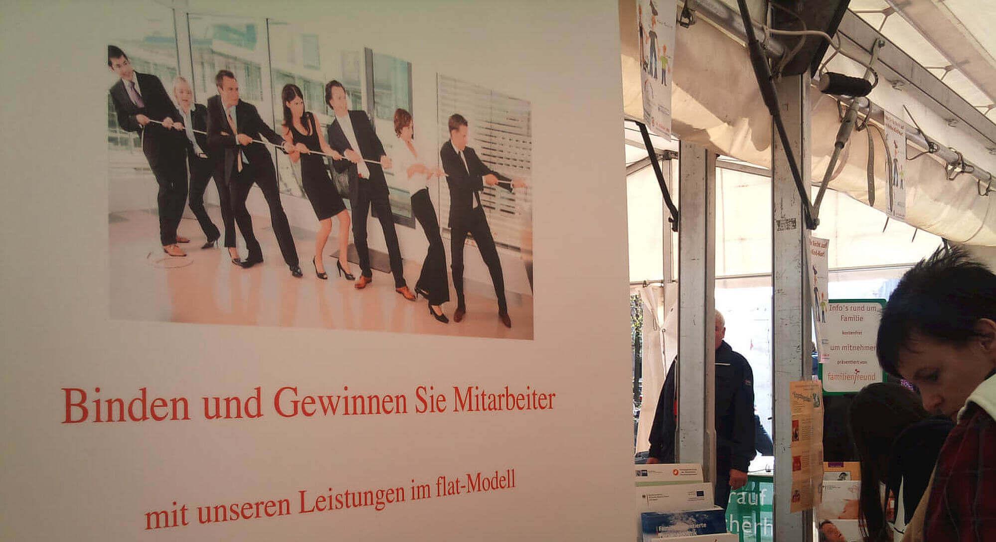 Binden und Gewinnen von Mitarbeitern (c) familienfreund.de