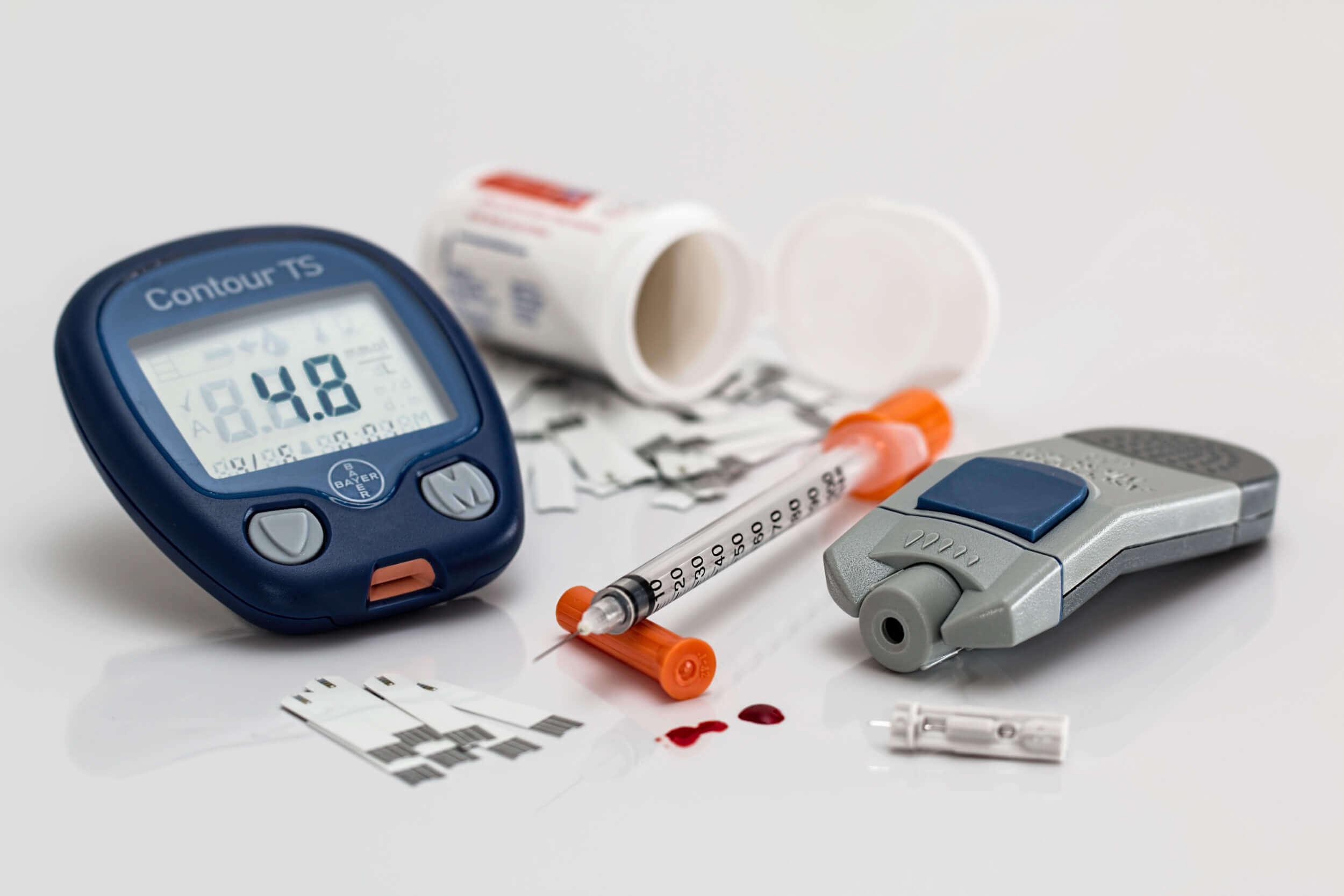 Bluttest - nicht nur zur Diabetesfeststellung (c) stevepb / pixabay.de
