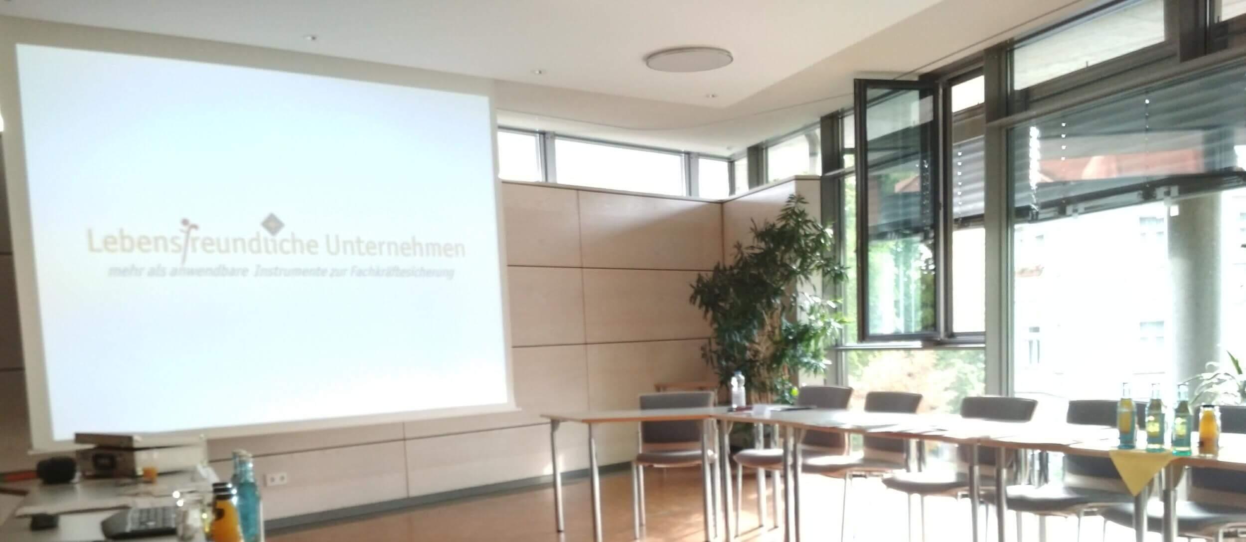 Auftaktworkshop Lebensfreundliche Arbeitgeber in Coswig (c) familienfreund.de