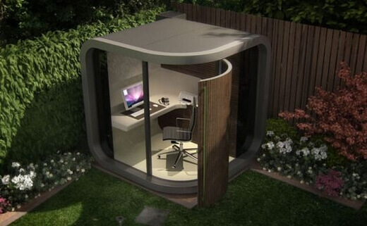Homeoffice officepod