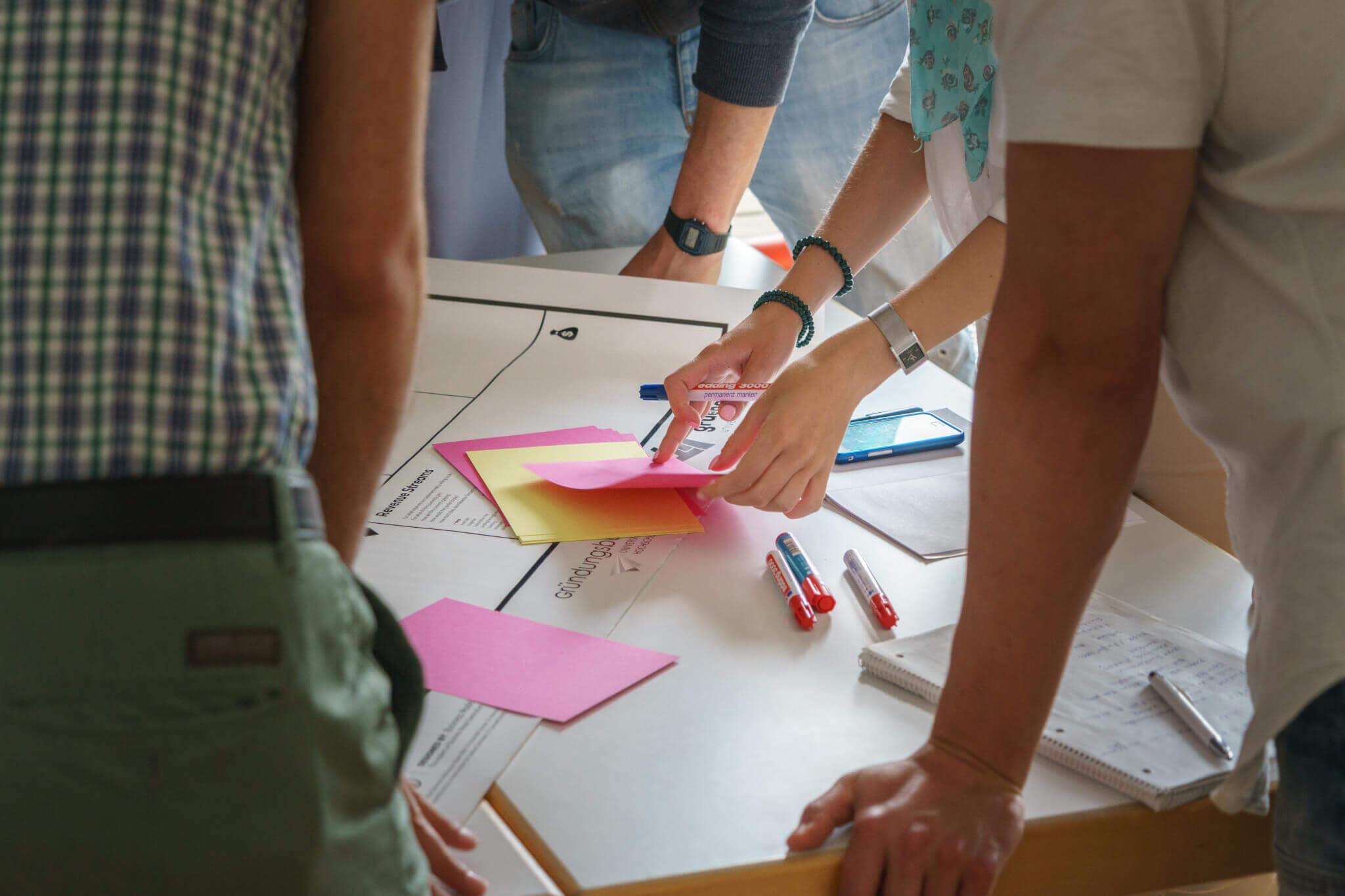 Im Brainstorming können tolle Verbesserungsvorschläge entstehen (c) ulrichw / pixabay.de