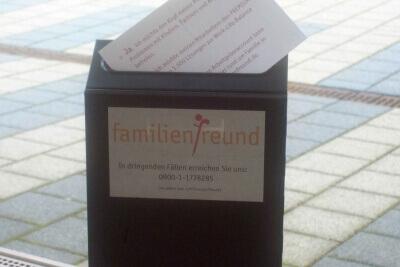 Familienbriefkasten - jetzt geht die post ab