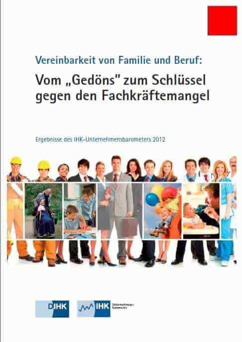 Vom 'Gedöns' zum Schlüssel gegen den Fachkräftemangel - (c) DIHK.de, August 2012