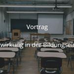 Anfrage zum Vortrag Elternmitwirkung in der Bildungseinrichtung