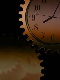 Uhr zeigt kurz nach acht (c) gerd altmann / pixelio.de