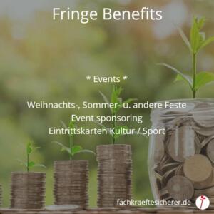 Beispiele Fringe Benefits Events