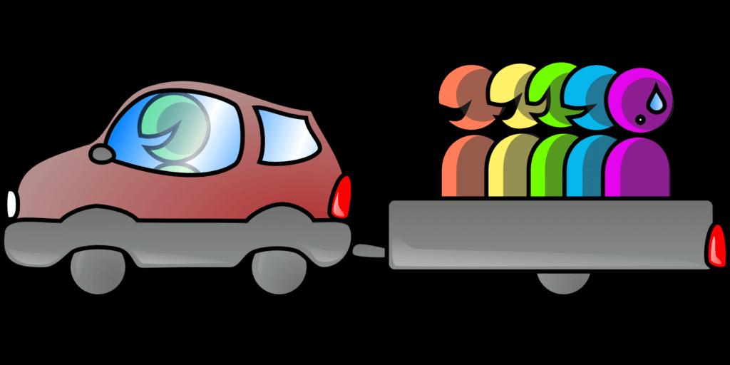 Fahrgemeinschaften (c) Clker-Free-Vector-Images / Pixabay