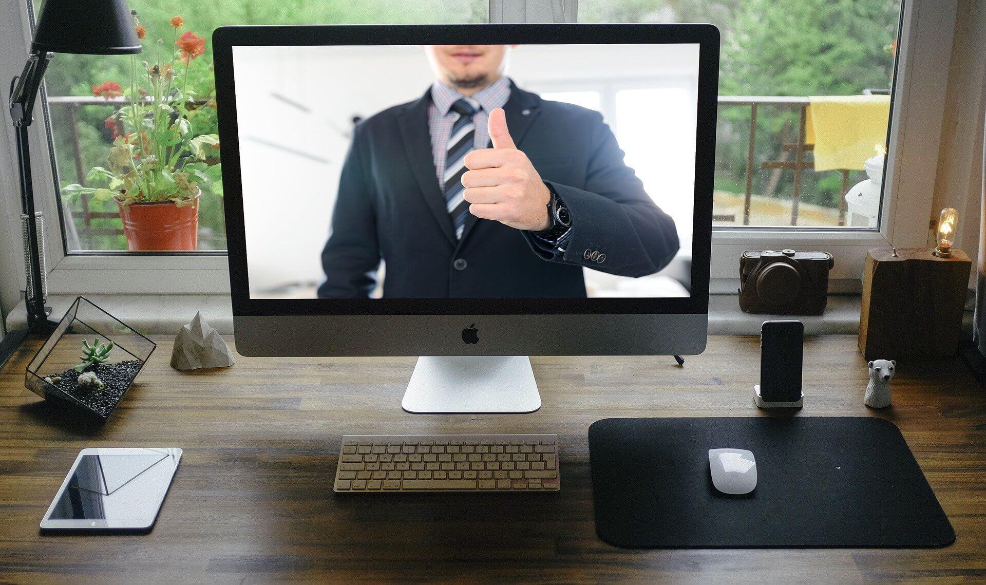 Videokonferenzen (c) tumisu / pixabay.de
