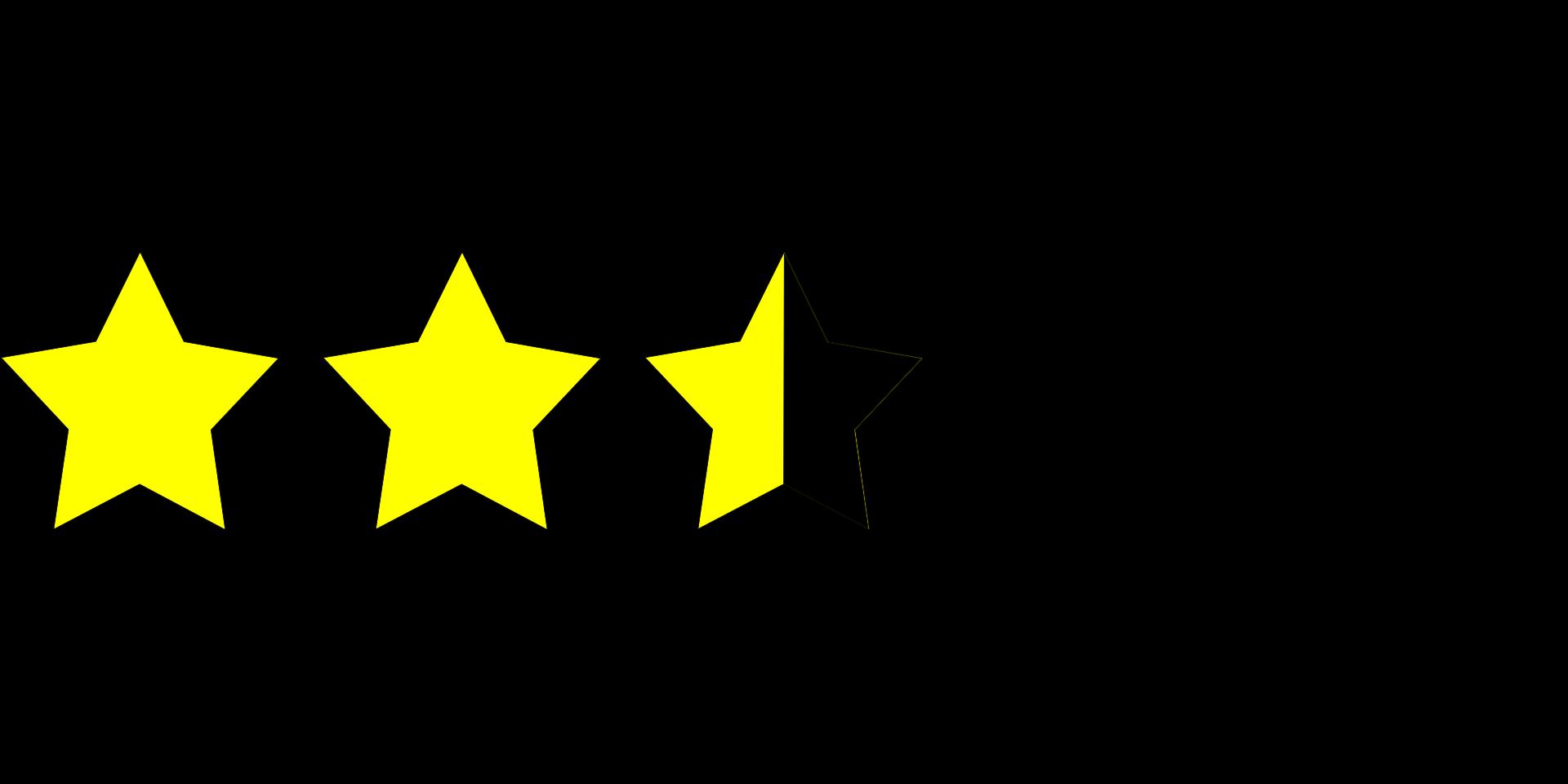 Arbeitgeberbewertungen mit Sternen (c) Clker-Free-Vector-Images / Pixabay.de